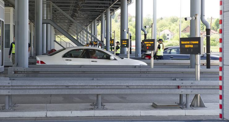 Saobraćajna policija srednja brzina merenje brzine kontrola kažnjavanje vozača naplatne rampe