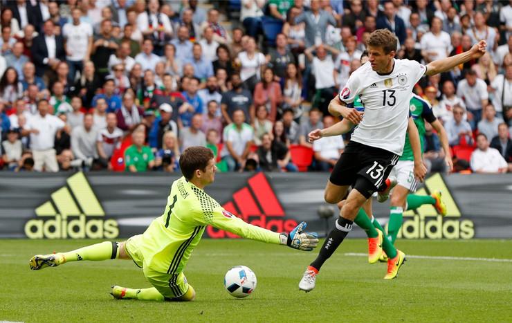 Fudbalska reprezentacija Severne Irske, Fudbalska reprezentacija Nemačke