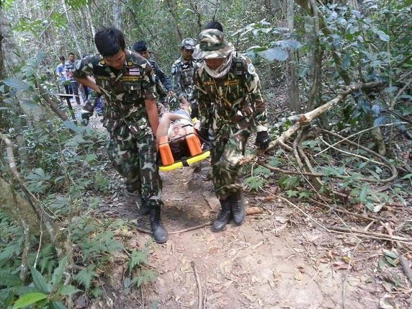 Na północ od Bangkoku, w tajlandzkim parku narodowym Khao Yai, doszło do niebezpiecznego incydentu z udziałem krokodyla