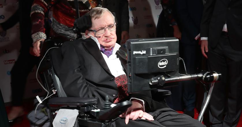 Fragment pracy doktoranckiej Stephena Hawkinga
