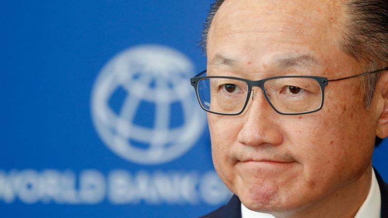 Prezes Banku Światowego Jim Yong Kim