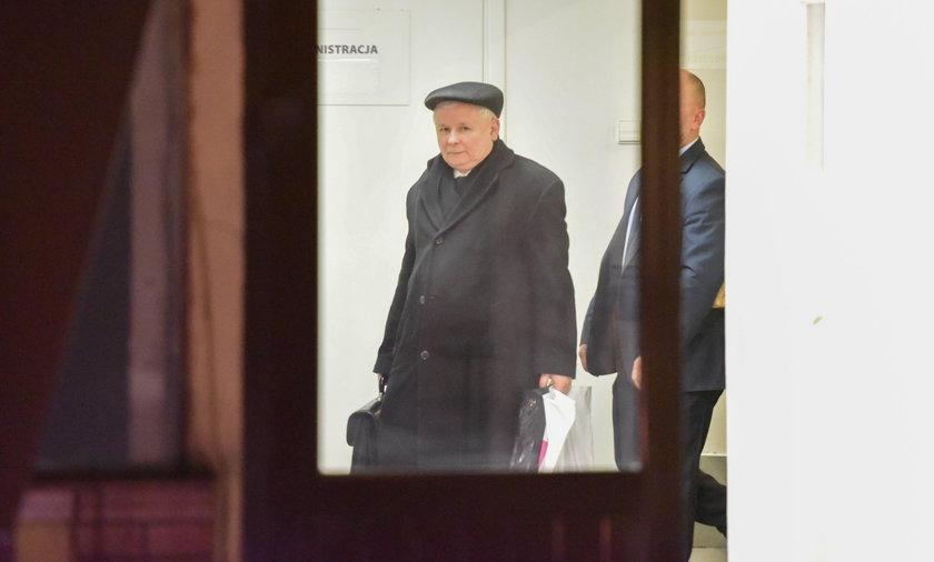 Nagrali Kaczyńskiego, bo nie ufał SOP?