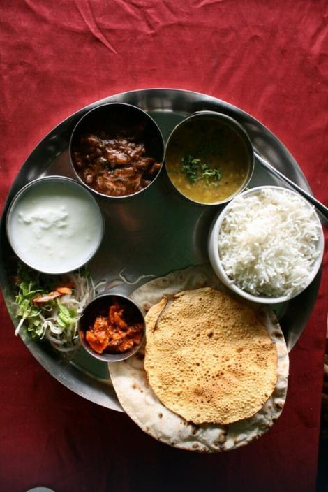 Na listi omiljenih nalazi se i indijsko jelo tali, tačnije, ceo obrok