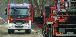 Tragiczny pożar w Lubelskiem. Znaleziono dwa ciała