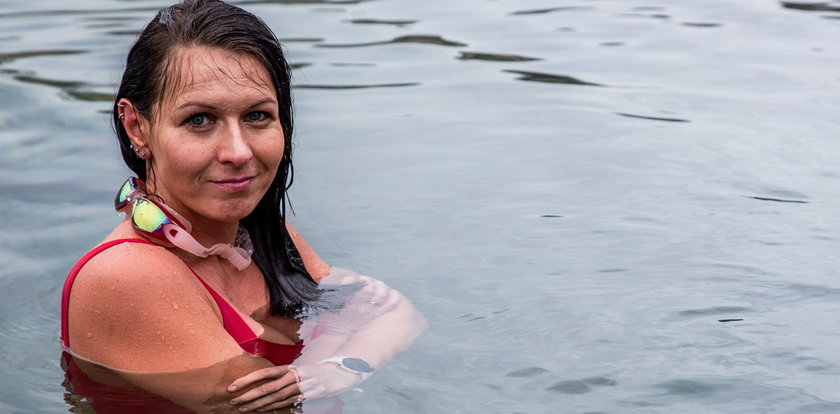 Zimna woda zdrowia doda! Aldona Skowrońska zachęca do morsowania