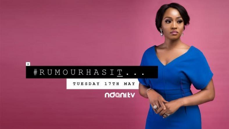 "Uru Eke is a celebrity blogger in episode one of ""Rumour Has It"""