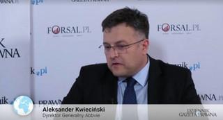 Kwieciński: Innowacyjne terapie to korzyści dla gospodarki
