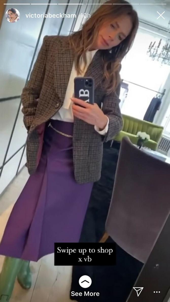 Viktorija Bekam na Instagramu