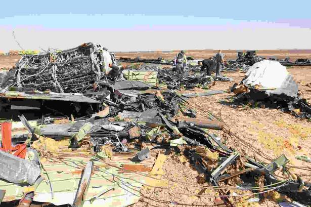 Katastrofa rosyjskiego samolotu w Egipcie EPA/KHALED ELFIQI Dostawca: PAP/EPA.