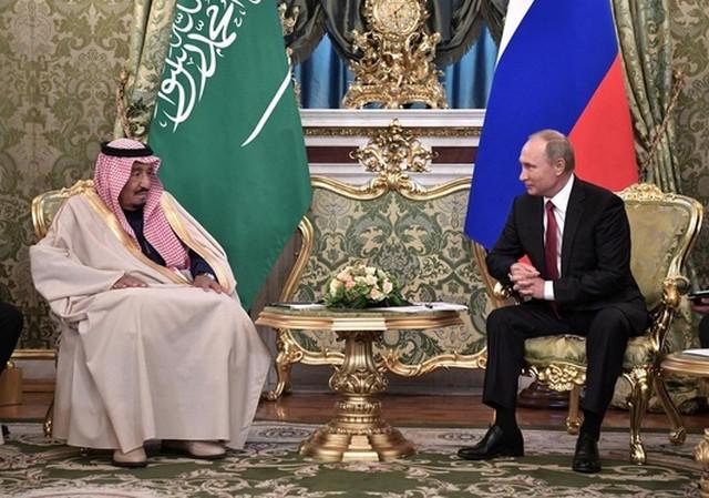 Vladimir Putin i kralj Salaman