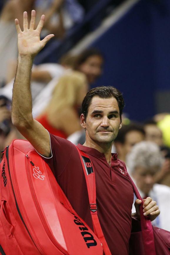 Rodžer Federer napušta US Open