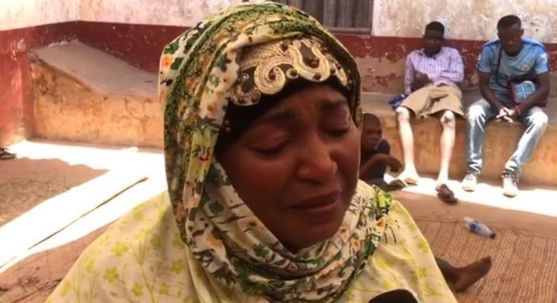 Likoni MP Mishi Mboko sobs during interview after her brother, Dr Ali Juma died in Cuba (You Tube)