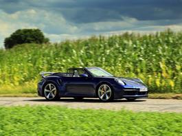 Porsche 911 Turbo S Cabrio - przeciąg przepotężny