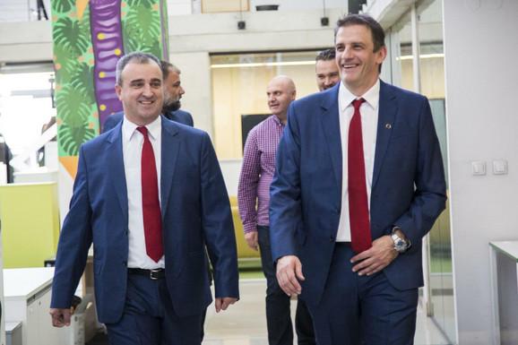 Saša Vlaisavljević i Viktor Jelenić