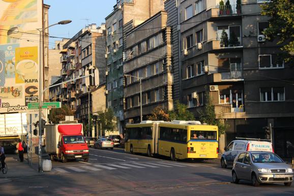 Bulevar despota Stefana jedna od najzagađenijih tačak u zemlji