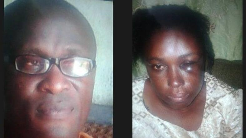 Pastor Ajayi has turned his wife Yemisi into a punching bag