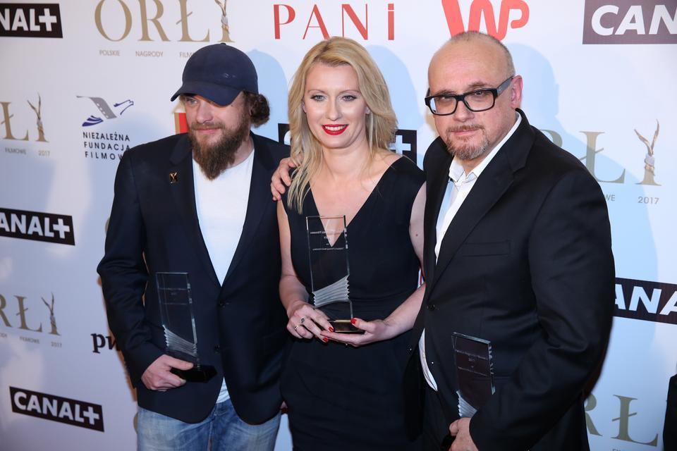 """Orły 2017 - najlepszy filmowy serial fabularny: """"Belfer"""""""