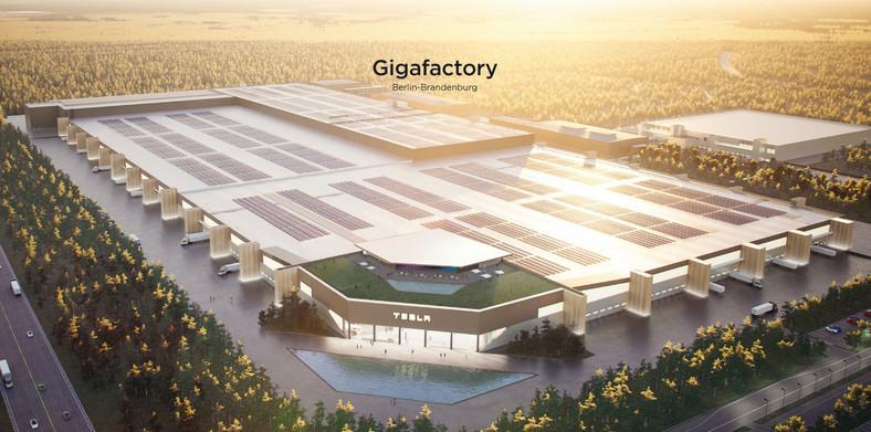 Tesla Gigafactory Berlin-Brandenbur