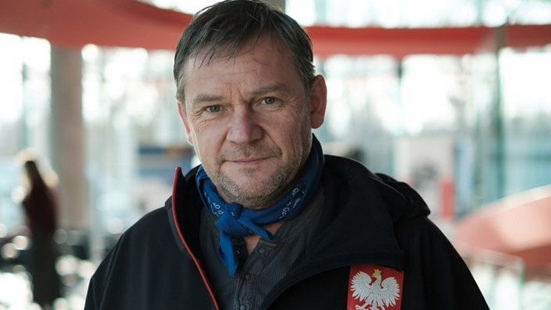 "Ireneusz Czop jako Maciej Berbeka w filmie ""Broad Peak"" / fot. Piotr Litwic"