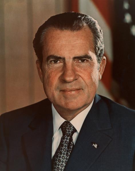 Richard Nixon az Amerikai Egyesül Államok elnöke volt 1969-től 1974-ig