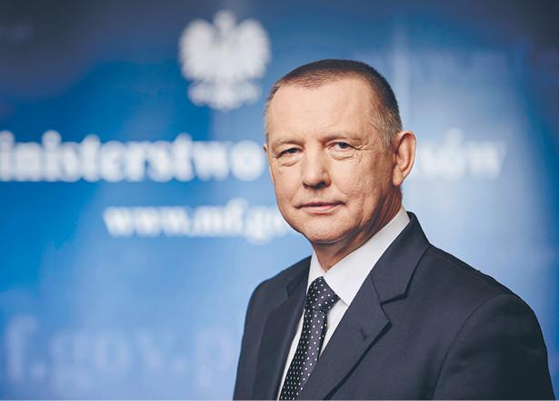 Marian Banaś, szefuje Krajowej Administracji Skarbowej