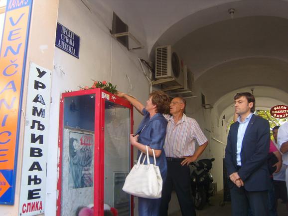 Prolaz u najstrožem centru Novog Sada poneo je ime Srđana Aleksića još 2009.