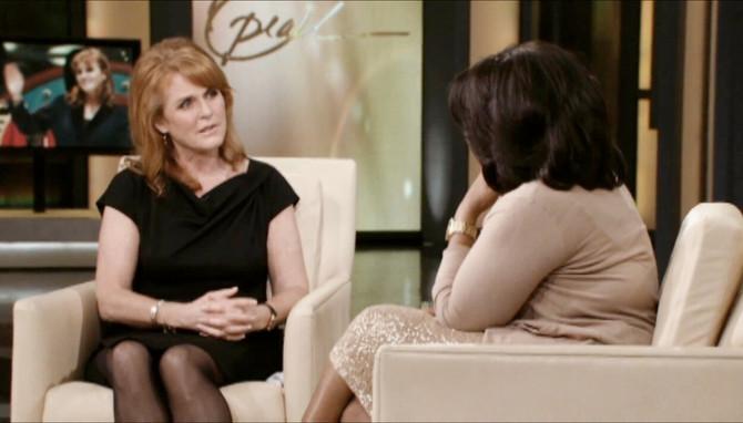 Sara Ferguson i Opra Vinfri 2011. na malim ekranima