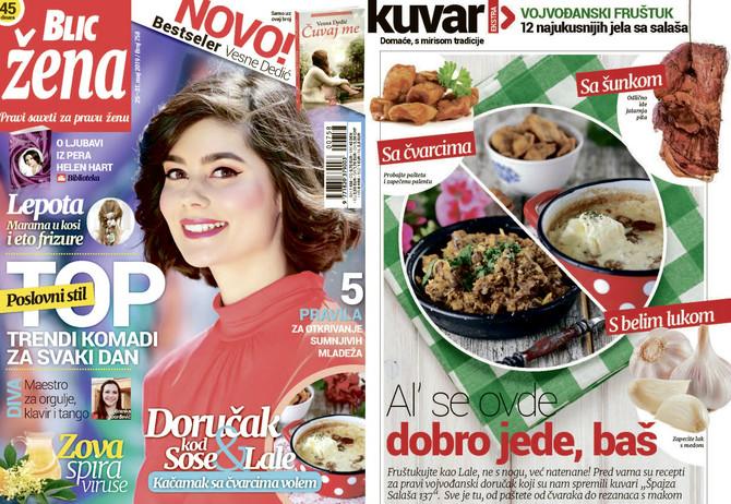 "Nova ""Blic žena"" na kioske stiže u subotu 25. maja"