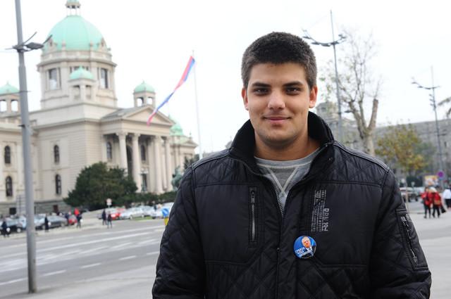 OČEKUJE OCA U UTORAK: Aleksandar Šešelj
