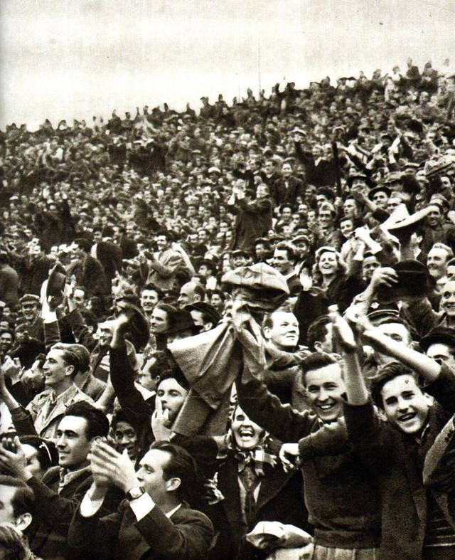 Navijači Partizana 50-ih godina prošlog veka
