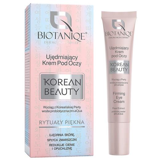 Biotaniqe - Ujędrniający Krem Pod Oczy Korean Beauty - opinie
