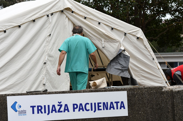 Podgorica crna gora koronavirus