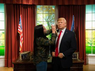 Donald Trump Waxwork at Madame Tussauds