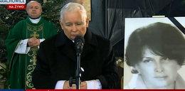 Ostre przemówienie Kaczyńskiego w kościele po mszy za matkę