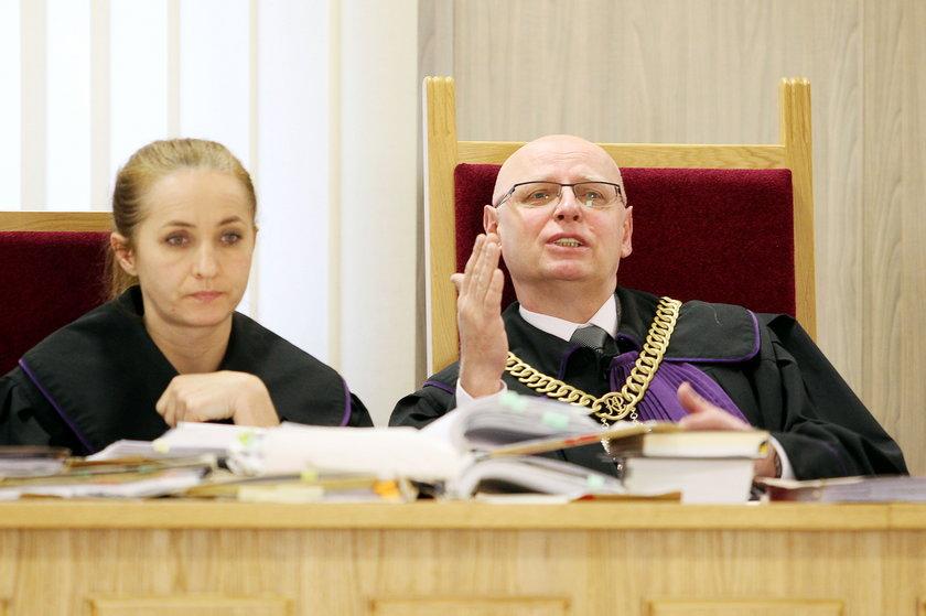 Sędziowie: Grażyna Suchecka i Ryszard Furman