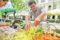 sajam pijaca organska poljoprivreda organski proizvodi foto Robert Getel