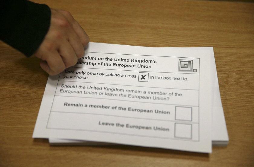 Tak zagłosują Brytyjczycy? Nowy sondaż przed Brexitem