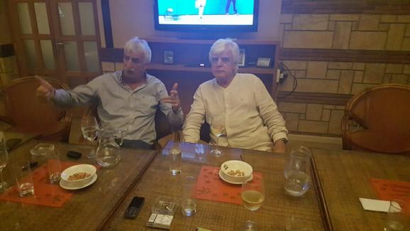 Dragan Kićanović i Žarko Backović