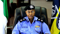 Inspector General of Police (IGP), Mr Usman Baba.