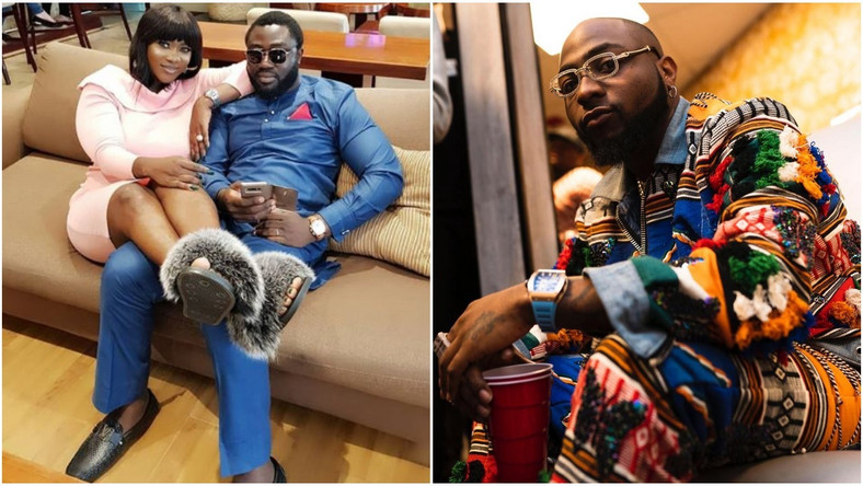 The music star's comment has generated a lot of conversation as many wonder what transpired between the Okojies and Davido. [Instagram/MercyJohnsonOkojie] [Instagram/DavidoOfficial]