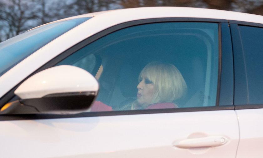 Maryla Rodowicz, samochód