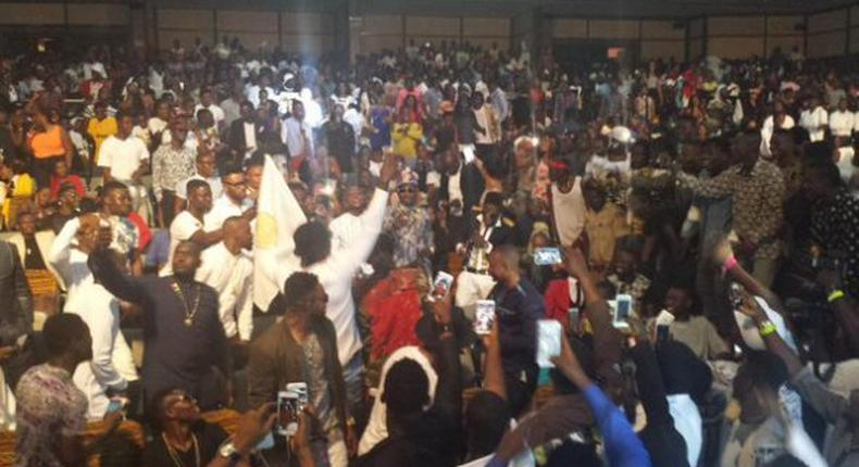 Patrons at MTN 4Syte TV Music Video Awards