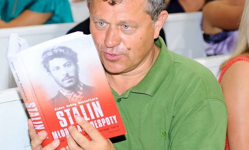 """Aktor """"M jak miłość"""" czyta Stalina"""