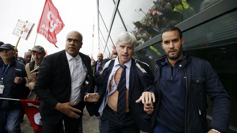 Francja: związkowcy zaatakowali dyrekcję Air France po zapowiedzi zwolnień