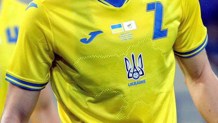 Mapa Ukrainy na koszulkach piłkarskiej reprezentacji na Euro 2020, co do której Rosja miała wątpliwości