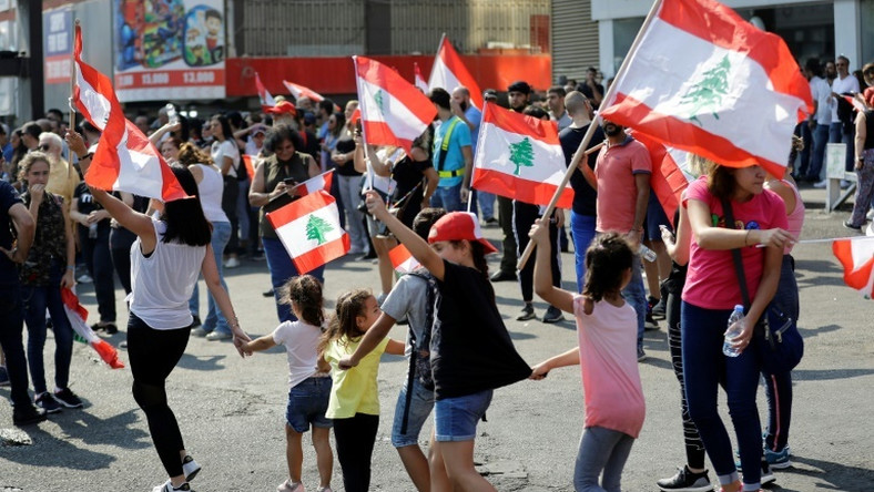 Lebanese schoolchildren have joined the protests that have rocked the country since October 17, demanding better public education and more job opportunities for school leavers