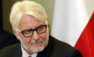 Waszczykowski: Duża część rozmowy z szefem NATO poświęcona manewrom Zapad'17