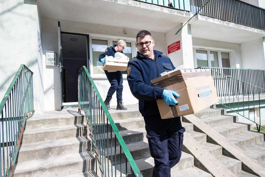 Posiłki dostarczane są osobom, które korzystają na codzień  z usług DPS-ów