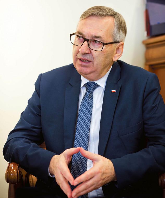Stanisław Szwed, wiceminister rodziny, pracy i polityki społecznej  fot. Wojtek Górski