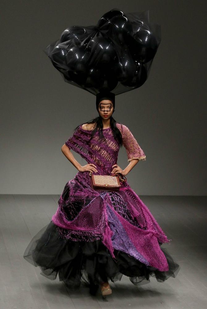 Model sa Londonske nedelje mode